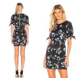 Revolve About Us Ronda Tie Sleeve Floral Dress